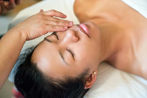 la détente procurée par un massage